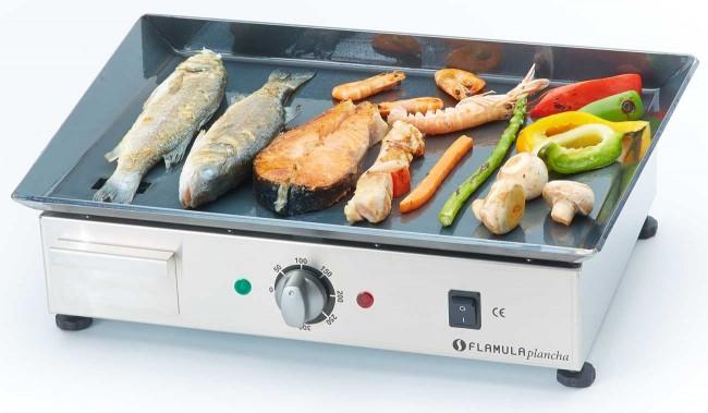 električni roštilj i priprema hrane